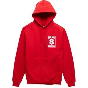 NWT Cash Money Red and White Logo Hoodie